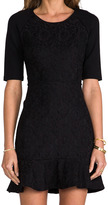 Juicy Couture Bonded Lace Dress