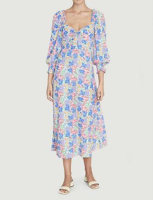 Faithfull The Brand Mathilde floral-print crepe midi dress