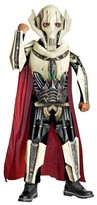 Star Wars General Boys' Grievous Deluxe Costume Large (10-12)