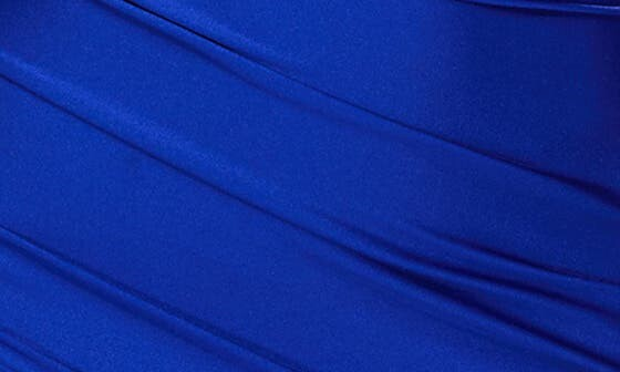 Thumbnail for your product : La Femme Satin Jersey Trumpet Gown