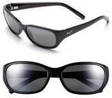 Maui Jim Women's Kuiaha Bay 55Mm Polarizedplus Sport Sunglasses - Dark Sandstone