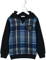 Dolce & Gabbana tartan hoodie