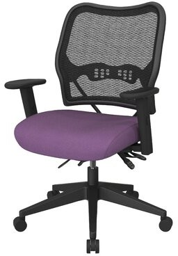 Mesh Task Chair Office Star Products Color: Black Mesh