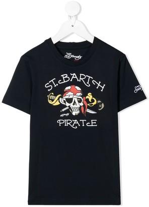 MC2 Saint Barth St. Barth Pirate print T-shirt