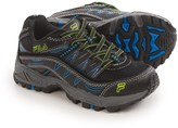 Fila At Peake Trail Running Shoes (For Little and Big Kids)