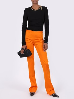 Versace Chain Detail Long-sleeve Top