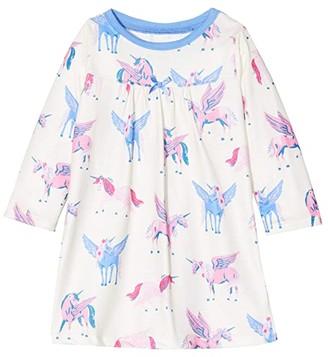 Hatley Mystical Unicorns Nightdress (Toddler/Little Kids/Big Kids) (Natural) Girl's Pajama