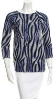 Bouchra Jarrar Patterned Sweater
