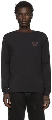 Saturdays NYC Black Neon Gotham Long Sleeve T-Shirt