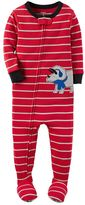 Carter's Toddler Boy Striped Footed Pajamas