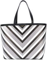Sara Battaglia striped tote bag