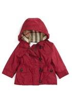 Burberry 'Karen' Hooded Jacket (Baby Girls)