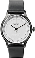Tsovet - Jpt-c036 36mm Stainless Steel And Leather Watch