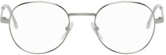 Balenciaga Silver Round Glasses