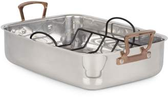 Cuisinart Metal Expressions Stainless Steel Roaster with Non-Stick V-rack