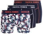 Jack & Jones Jaccitylife 3 Pack Shorts Navy Blazer