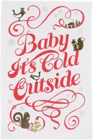 Now Designs Cold Outside Teatowels, Set of 2