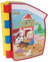 "Fisher-Price Little People ""Let's Go To The Farm!"" Puzzle Book"