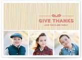 Minted Rustic Splendor Thanksgiving Cards