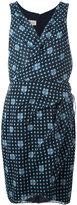 Armani Collezioni printed wrap dress