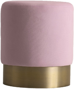 Le Carrousel - Pink Pouf - Pink/Gold