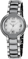 Burgi Women's Stainless Steel & Mother Of Pearl Dial Watch, 32mm