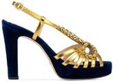 Gucci crystal embellished sandals