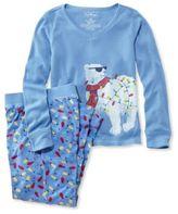 L.L. Bean Girls' Jersey Knit Pajamas