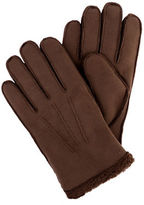 Tommy Hilfiger Gauge Sewn Faux Shearling Gloves