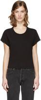 RE/DONE Black 1950's Boxy T-Shirt