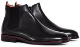 Hudson Tonti Leather Chelsea Boot Black