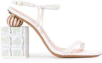 Jacquemus Elme 110mm sandals