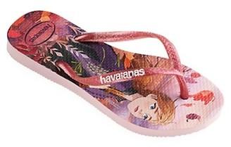 Havaianas Little Girl's & Girl's Frozen 2 Flip Flops