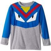 Fendi Long Sleeve Monster Eyes Graphic T-Shirt Boy's T Shirt