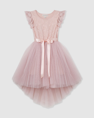 Designer Kidz Libby Lace S/S Tutu Dress