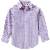 Class Club Gold Label Little Boys 2T-7 Checked Non-Iron Button-Front Shirt