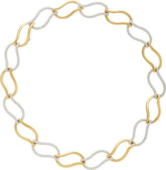 Gioia Bini Flame 18K Gold And Diamond Necklace
