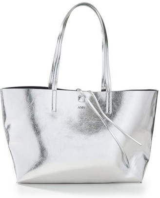 Mark & Graham Fillmore Vegan Leather Tote, Foil Debossed