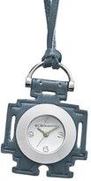 BCBGeneration Women's GL4169 Fashion Robot Pedant Analog Blue Leather Watch