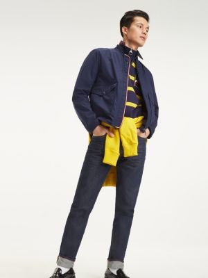 Tommy Hilfiger Embroidered Tapered Fit Jeans
