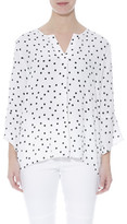 Jump 3/4 Slv Spotty Shirt