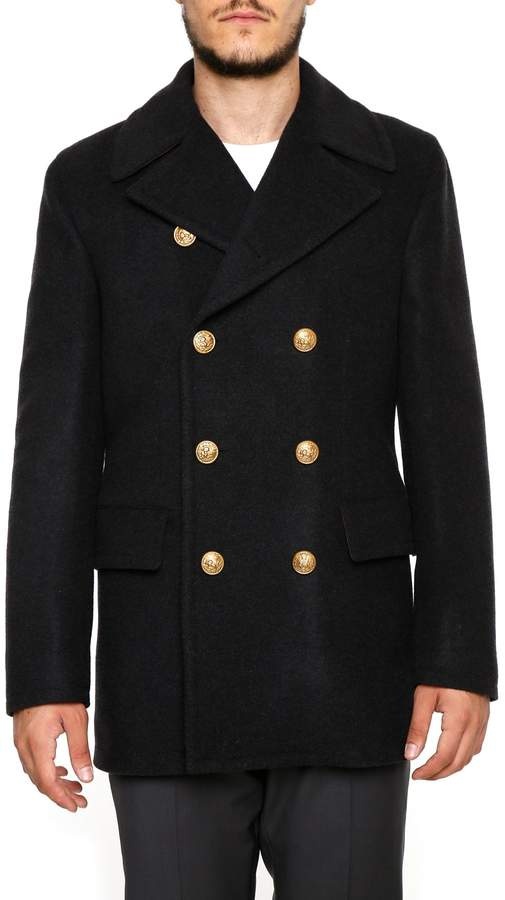 Dolce & Gabbana Wool And Cashmere Pea Coat