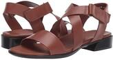 Munro American Souki (Luggage Leather) Women's Sandals