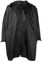 Zucca hooded cape raincoat - unisex - Polyester - One Size