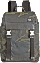 Jack Spade Men's Camo Waxed Cotton Army Backpack