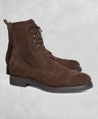 Brooks Brothers Golden Fleece Suede Boots