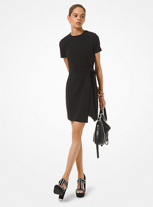 Michael Kors Scuba Wrap Dress