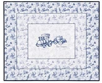 Camilla And Marc Petit Lazzari Vintage Toys - Children's Rug, 90 x 115 cm, Blue