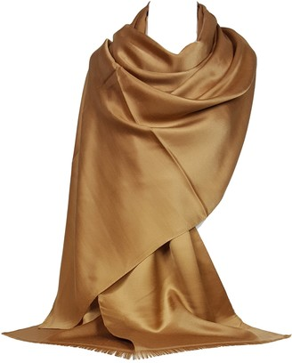 GFM Silky Touch Pashmina Style Scarf (LH-SLKMOD-5005-CPKEK)
