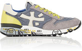 Premiata MEN'S MICK LOW-TOP SNEAKERS-GREY SIZE 9 M